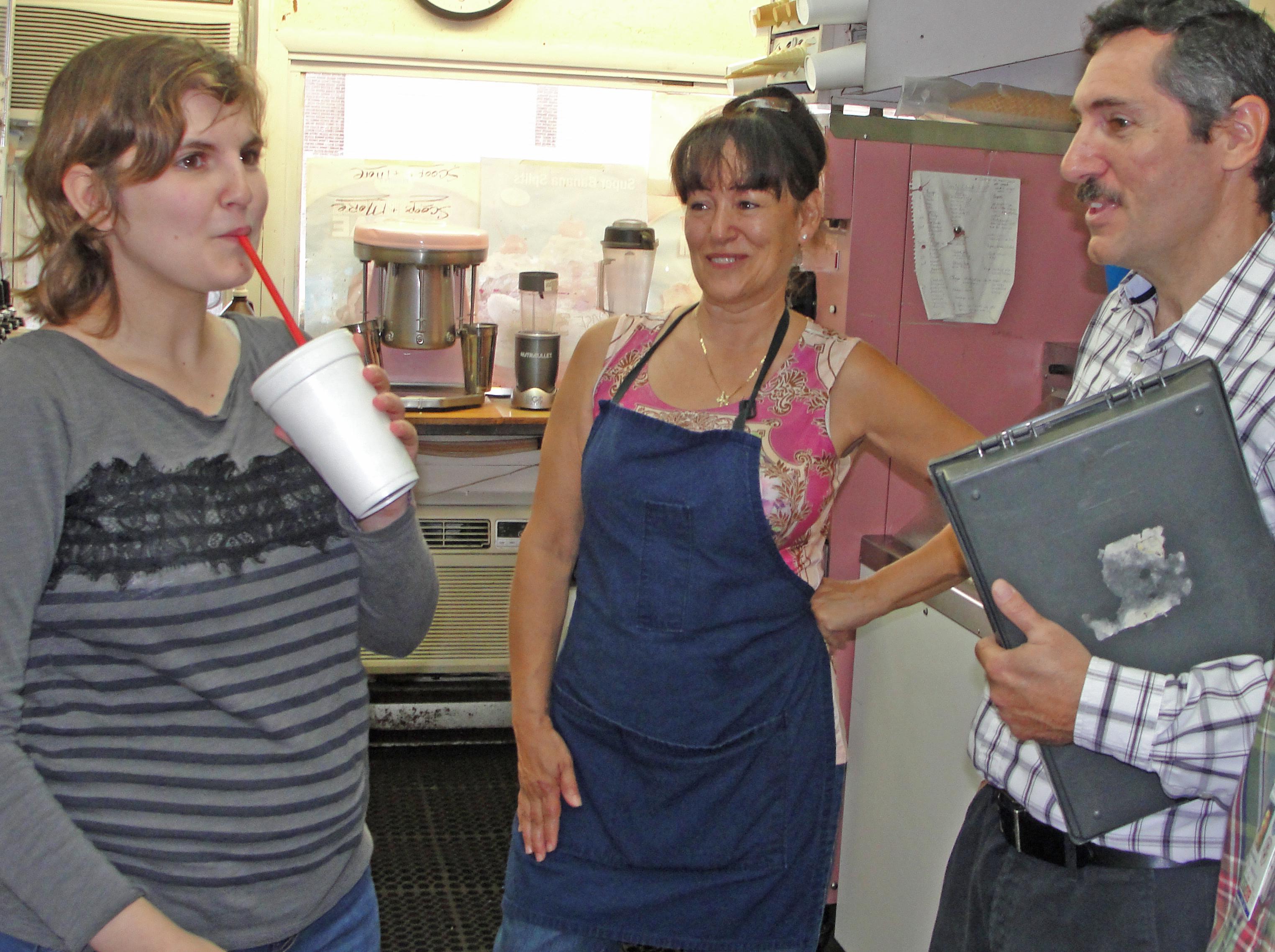 Nicole's Milkshake at Scoops