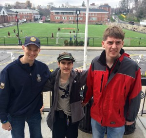 Chris, Matt, and James at Iona