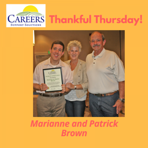 Marianne and Patrick Brown