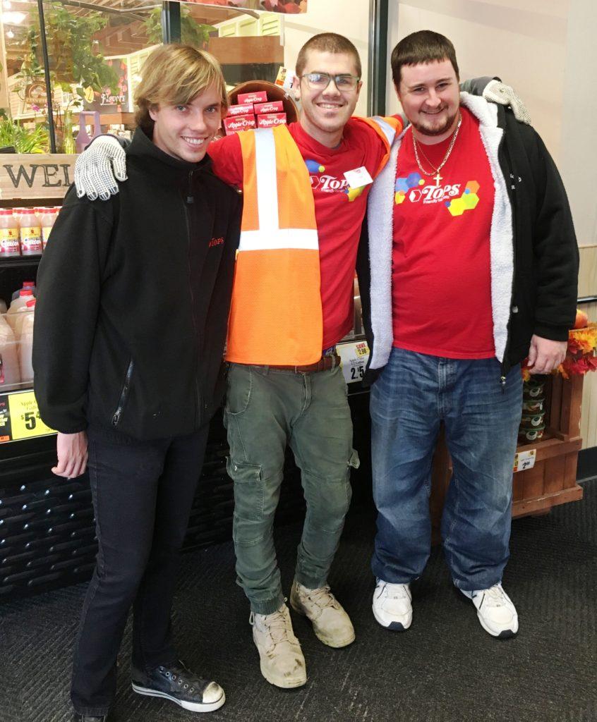 Marek, JT, and Artie