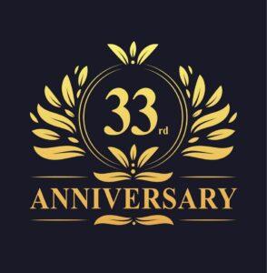 CAREERS 33rd Anniversary Logo