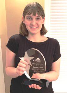 Giavanna-Cilento-Personal-Achievement-Award