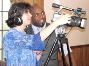 Mentoring video camera use