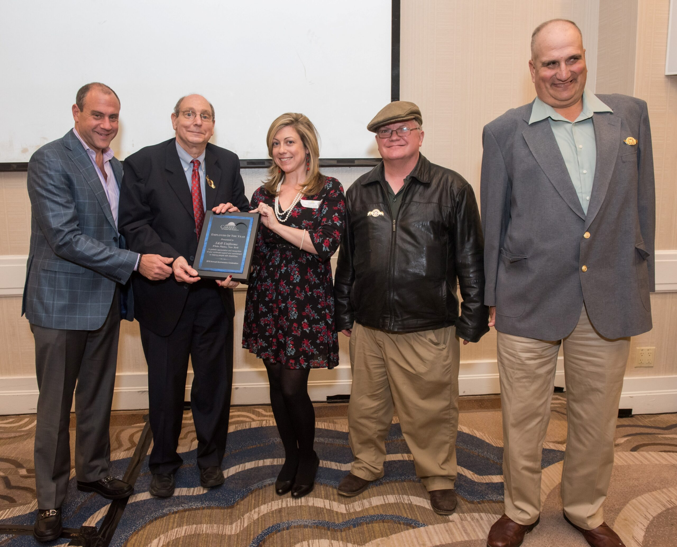 S&H Uniforms Employer of Year Award